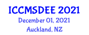 International Conference on Computational Methods in Structural Dynamics and Earthquake Engineering (ICCMSDEE) December 01, 2021 - Auckland, New Zealand