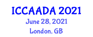 International Conference on Computer Aided Automotive Design and Applications (ICCAADA) June 28, 2021 - London, United Kingdom