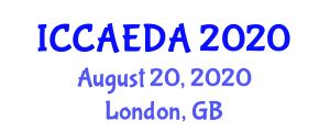International Conference on Computer-Aided Engineering Design and Applications (ICCAEDA) August 20, 2020 - London, United Kingdom