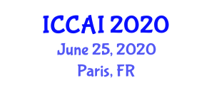 International Conference on Computer and Artificial Intelligence (ICCAI) June 25, 2020 - Paris, France