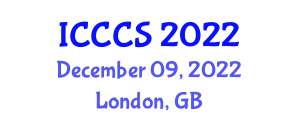 International Conference on Computer and Cognitive Science (ICCCS) December 09, 2022 - London, United Kingdom