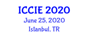 International Conference on Computer and Information Engineering (ICCIE) June 25, 2020 - Istanbul, Turkey