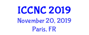 International Conference on Computer and Network Communications (ICCNC) November 20, 2019 - Paris, France