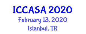 International Conference on Computer Animation and Social Agents (ICCASA) February 13, 2020 - Istanbul, Turkey