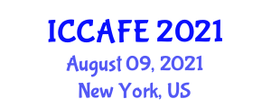 International Conference on Computer Applications of Food Engineering (ICCAFE) August 09, 2021 - New York, United States