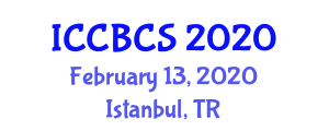 International Conference on Computer Based Control Systems (ICCBCS) February 13, 2020 - Istanbul, Turkey