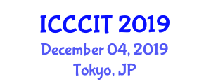 International Conference on Computer, Communication and Information Technologies (ICCCIT) December 04, 2019 - Tokyo, Japan
