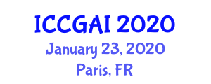International Conference on Computer Graphics and Artificial Intelligence (ICCGAI) January 23, 2020 - Paris, France