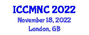 International Conference on Computer Mathematics and Natural Computing (ICCMNC) November 18, 2022 - London, United Kingdom