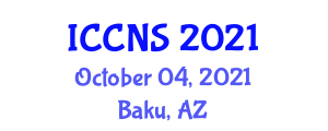 International Conference on Computer Network and Security (ICCNS) October 04, 2021 - Baku, Azerbaijan