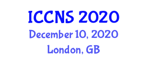 International Conference on Computer Networks and Security (ICCNS) December 10, 2020 - London, United Kingdom
