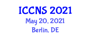 International Conference on Computer Networks and Security (ICCNS) May 20, 2021 - Berlin, Germany