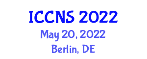 International Conference on Computer Networks and Security (ICCNS) May 20, 2022 - Berlin, Germany