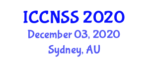 International Conference on Computer Networks and Systems Security (ICCNSS) December 03, 2020 - Sydney, Australia