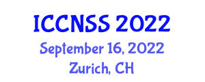 International Conference on Computer Networks and Systems Security (ICCNSS) September 16, 2022 - Zurich, Switzerland