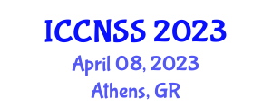 International Conference on Computer Networks and Systems Security (ICCNSS) April 08, 2023 - Athens, Greece