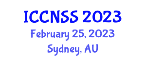 International Conference on Computer Networks and Systems Security (ICCNSS) February 25, 2023 - Sydney, Australia