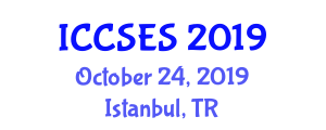 International Conference on Computer Science and Education Science (ICCSES) October 24, 2019 - Istanbul, Turkey