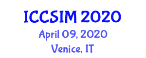 International Conference on Computer Science and Information Management (ICCSIM) April 09, 2020 - Venice, Italy