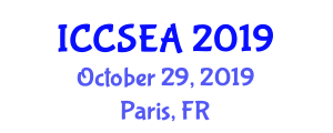 International Conference on Computer Science, Engineering and Applications (ICCSEA) October 29, 2019 - Paris, France