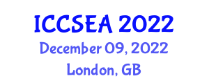 International Conference on Computer Science, Engineering and Applications (ICCSEA) December 09, 2022 - London, United Kingdom