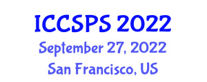 International Conference on Computer Science, Programming and Security (ICCSPS) September 27, 2022 - San Francisco, United States