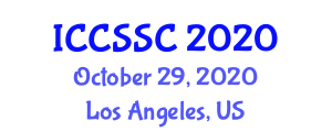 International Conference on Computer Science, Security and Cryptology (ICCSSC) October 29, 2020 - Los Angeles, United States