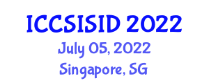 International Conference on Computer Security, Information Security and Intrusion Detection (ICCSISID) July 05, 2022 - Singapore, Singapore