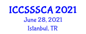International Conference on Computer Security, Security Systems and Cryptology Applications (ICCSSSCA) June 28, 2021 - Istanbul, Turkey