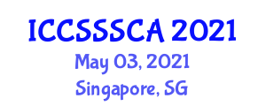 International Conference on Computer Security, Security Systems and Cryptology Applications (ICCSSSCA) May 03, 2021 - Singapore, Singapore