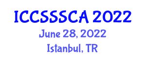 International Conference on Computer Security, Security Systems and Cryptology Applications (ICCSSSCA) June 28, 2022 - Istanbul, Turkey