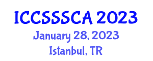 International Conference on Computer Security, Security Systems and Cryptology Applications (ICCSSSCA) January 28, 2023 - Istanbul, Turkey
