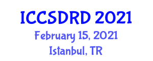 International Conference on Computer-Supported Diagnosis and Recent Developments (ICCSDRD) February 15, 2021 - Istanbul, Turkey