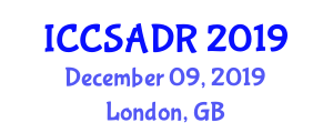 International Conference on Computer Systems Architecture and Data Representation (ICCSADR) December 09, 2019 - London, United Kingdom