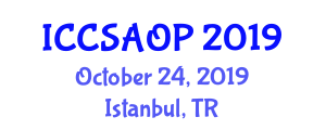 International Conference on Computer Systems Architecture and Organizational Principles (ICCSAOP) October 24, 2019 - Istanbul, Turkey