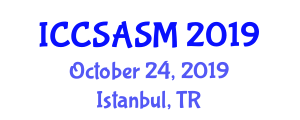 International Conference on Computer Systems Architecture and System Measurement (ICCSASM) October 24, 2019 - Istanbul, Turkey
