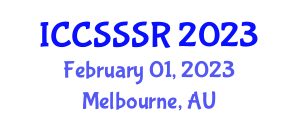 International Conference on Computer Systems Security, Safety and Reliability (ICCSSSR) February 01, 2023 - Melbourne, Australia