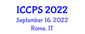 International Conference on Computers, Programming and Security (ICCPS) September 16, 2022 - Rome, Italy
