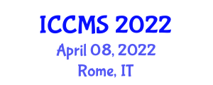 International Conference on Configuration Management and Security (ICCMS) April 08, 2022 - Rome, Italy