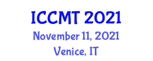 International Conference on Configuration Management and Testing (ICCMT) November 11, 2021 - Venice, Italy
