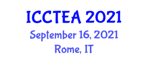 International Conference on Conservation of Threatened and Endangered Animals (ICCTEA) September 16, 2021 - Rome, Italy