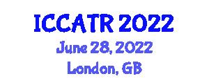 International Conference on Construction Automation Technologies and Robotics (ICCATR) June 28, 2022 - London, United Kingdom