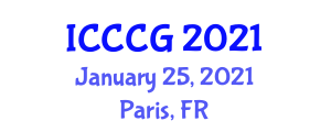 International Conference on Construction, Culture and Geography (ICCCG) January 25, 2021 - Paris, France