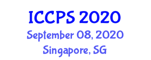 International Conference on Construction Processes and Safety (ICCPS) September 08, 2020 - Singapore, Singapore