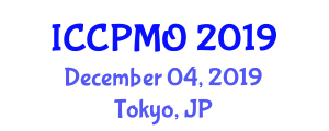 International Conference on Construction Project Management and Optimization (ICCPMO) December 04, 2019 - Tokyo, Japan