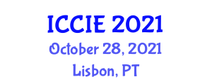 International Conference on Control and Informatics Engineering (ICCIE) October 28, 2021 - Lisbon, Portugal