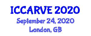 International Conference on Control, Automation, Robotics and Vision Engineering (ICCARVE) September 24, 2020 - London, United Kingdom