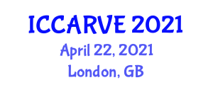 International Conference on Control, Automation, Robotics and Vision Engineering (ICCARVE) April 22, 2021 - London, United Kingdom