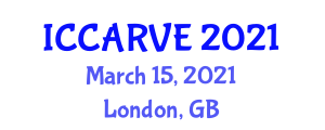 International Conference on Control, Automation, Robotics and Vision Engineering (ICCARVE) March 15, 2021 - London, United Kingdom