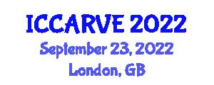 International Conference on Control, Automation, Robotics and Vision Engineering (ICCARVE) September 23, 2022 - London, United Kingdom